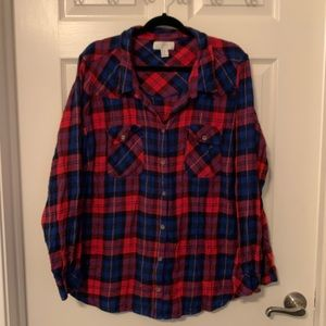 Forever 21 Flannel Shirt